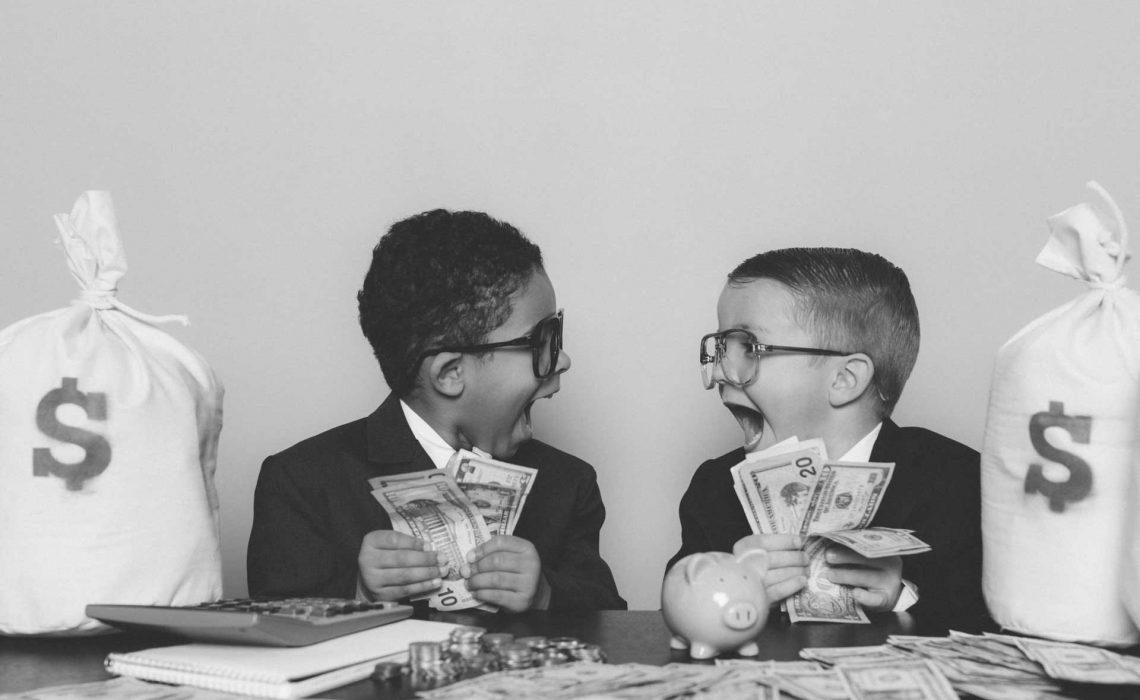 stock-market-kids-scaled-bw